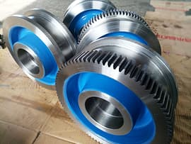 . Gear Crane Wheels