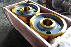 pcs of Dia.mm crane wheels package and delivery