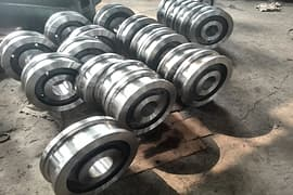 Pcs forged Crane wheels to Singapore