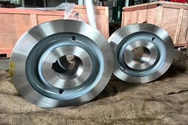 Pcs Crane wheels and shafts to Singapore