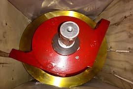 Dia.mm angle box type double flanged drive wheel group