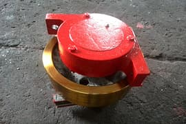 Dia.mm angle box type rimless idle driven wheel group